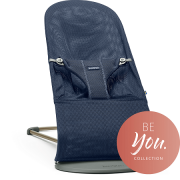 BABYBJORN gultukas Bouncer Bliss Navy Blue Mesh – Be You Collection