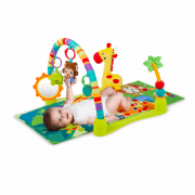 BRIGHT STARTS lavinamasis kilimėlis Jungle Discovery™ Activity Gym