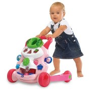 CHICCO stumdukas Baby Steps Activity Walker Girl