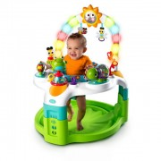 BRIGHT STARTS veiklos staliukas 2-in-1 Laugh & Lights Activity Gym & Saucer™