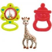 VULLI Sophie žirafa su kramtuku ir barškučiu