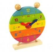 Medinis laikrodis - dėlionė Bigjigs