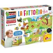 Montessori dėlionė-žaidimas Mano ūkis