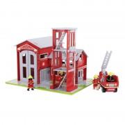 Medinė gaisrinė stotis Fire Station