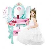 Grožio stalelis mergaitėms su 32 priedais