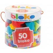 BLOKO konstruktorius 50 dalių.