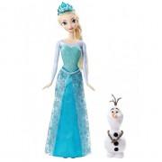 Ledo šalies lėlė Elsa ir Olafas