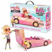 L.O.L kabrioletas Car Pool-Coupe 3in1