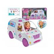Lėlytė Evi ir greitosios pagalbos automobilis