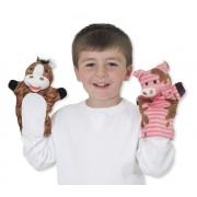Pliušiniai lėlių teatro personažai 4 vnt.