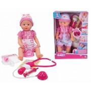 SIMBA New Born Baby lėlytė su daktaro priedais