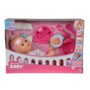 SIMBA New Born Baby lėlytė su priedais