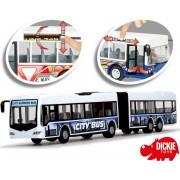 DICKIE autobusas City Express 46cm (baltas)