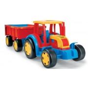 WADER didelis traktorius su priekaba