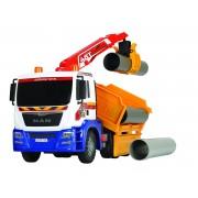DICKIE sunkiasvorė krovinių pervežimo mašina MAN
