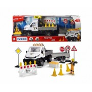 Kelių priežiūros tarnyba su Iveco darbo automobiliu