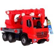Ypatingai didelė gaisrinės pagalbos mašina/kranas