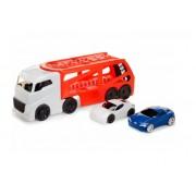 LITTLE TIKES autovežis su 2 mašinėlėmis