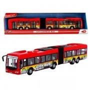 DICKIE autobusas City Express 46cm (raudonas)