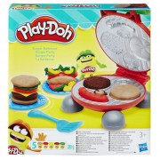 PLAY-DOH plastilino rinkinys Burger Party