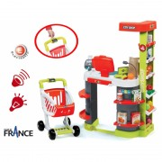 SMOBY supermarketas su kasa City Shop