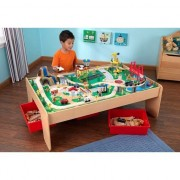 KIDKRAFT medinis žaidimų miestas su stalu