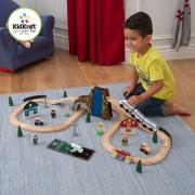 Medinė traukinukų trasa Euro Express