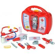 Daktaro rinkinys su žaisliniu mobiliuoju telefonu