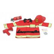 Mažojo gaisrininko kostiumas su priedais