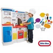 LITTLE TIKES didelė virtuvėlė su 17 priedų