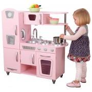 KIDKRAFT medinė virtuvėlė Vintage Pink