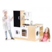Medinė virtuvėlė vaikams XXL