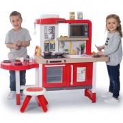 SMOBY žaidimų virtuvėlė bėgančiu vandeniu Tefal Evolutive Gourmet