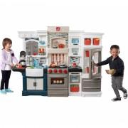 Mega didelė virtuvėlė vaikams Grand Luxe su priedais