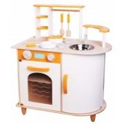 Medinė virtuvėlė Saffron Kitchen