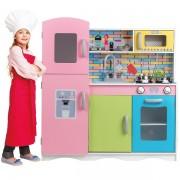 Medinė virtuvėlė su priedais Master Chef Junior