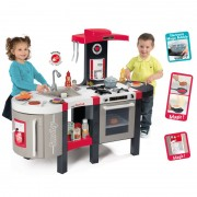 SMOBY vaikiška virtuvėlė Mini Tefal Superchef  Deluxe BUBBLE