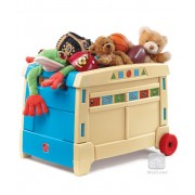 STEP2 žaislų dėžė Lift & Roll Toy Box™