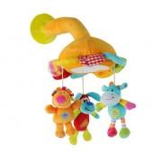 BABY ONO veliūrinis žaislas su siurbtuku
