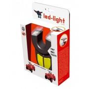 BIG priekiniai žibintai LED Light Bobby Car