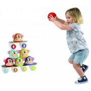 CHICCO linksmieji vaikiški kėgliai Monkey Strike Bowling