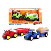 DICKIE traktorius su priekaba