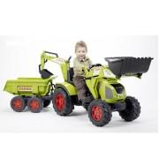 FALK traktorius Claas Axos su priekaba ir kaušu 3-7m