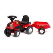 FALK traktorius paspirtukas Power Master 1-3m (Red)