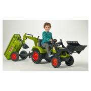 FALK traktorius Claas Arion su priekaba ir kaušu 3-7m 2070Z