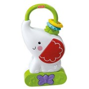 FISHER PRICE Tote 'n Glow Soother migdukas Drambliukas