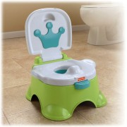 FISHER PRICE naktipuodis Royal Stepstool Potty 3 in 1