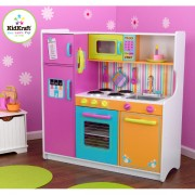 KIDKRAFT medinė virtuvėlė Big&Bright Kitchen