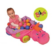K'S KIDS lavinamasis kilimėlis su kamuoliukais I'm Lady Boss