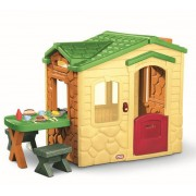 LITTLE TIKES lauko žaidimų namelis su terasa